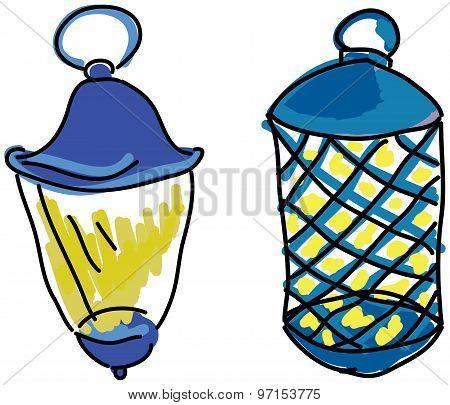 Drawn lamps