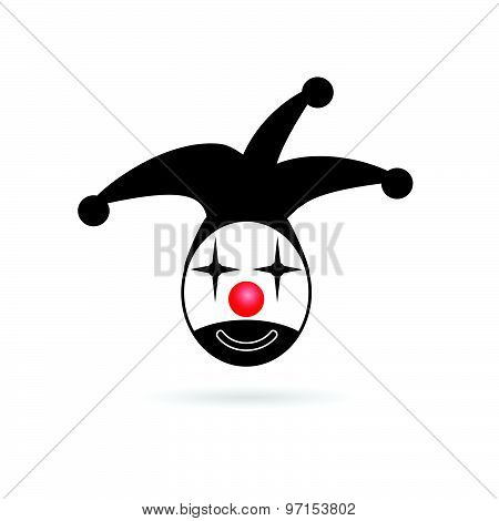 Jester Head Vector