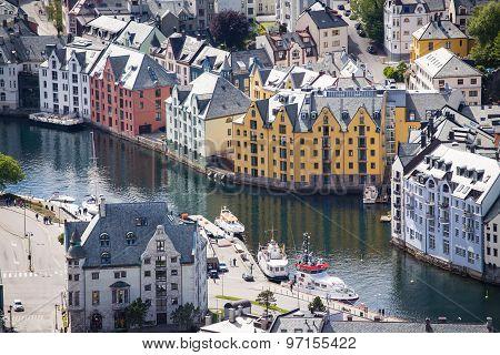 Streets Of Alesund