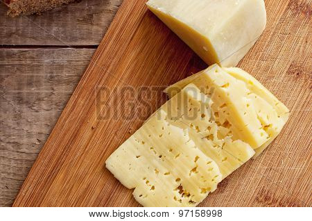 Parmesan And Sliced Dutch Cheese