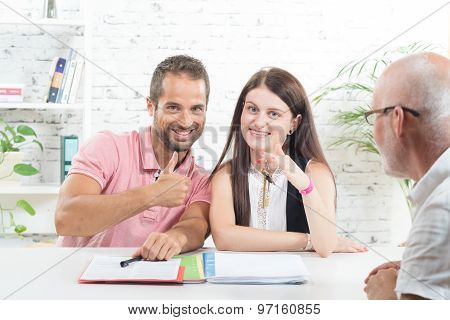 A Young Couple Buys A House