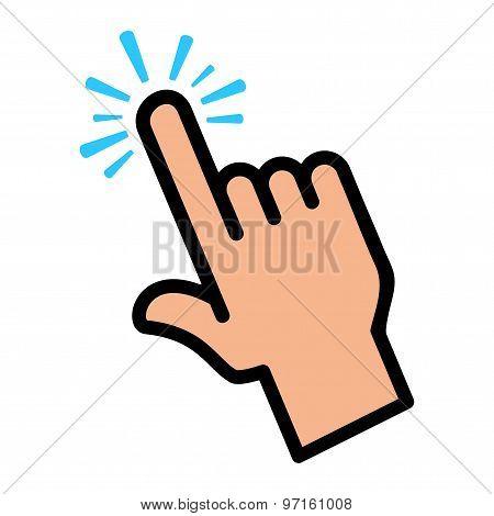 Finger Tap Screen