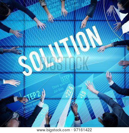 Solution Problem Solving Business Strategy Concept