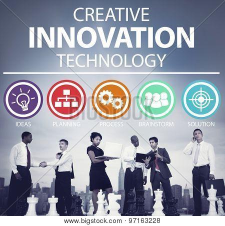 Creative Innovation Technology Ideas Inspiration Concept