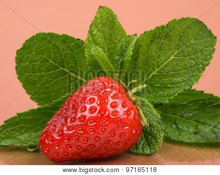 Strawberry And Mint