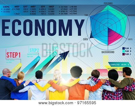 Economy Finance Bookkeeping Budget Investment Concept