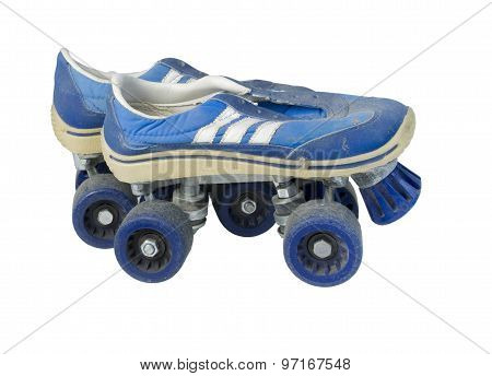 Old Tennis Shoe Roller Skates