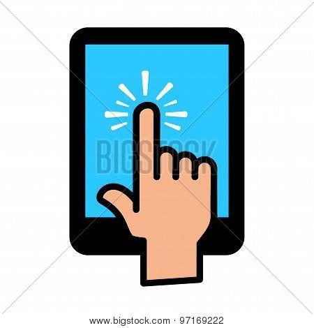 Tablet Finger Tap