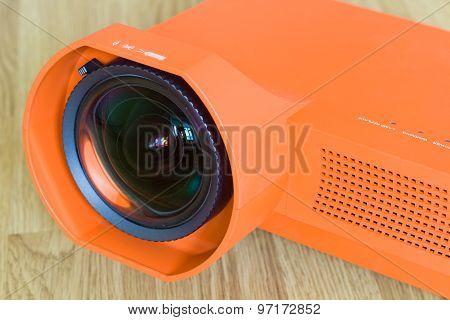 Close-up Multimedia projector.