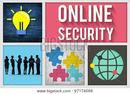 Online Security Safety Protection Concept