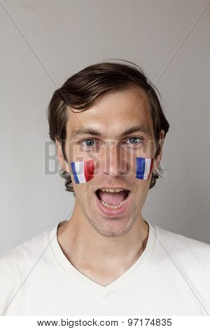 Happy French Sports Fan