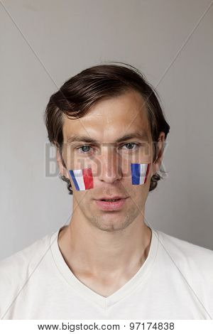 Upset French Sports Fan