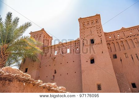 Ait Benhaddou, Morocco: clay buildings