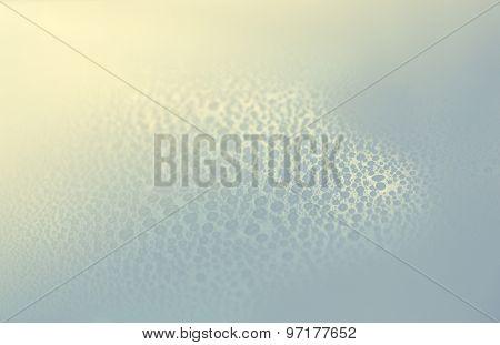 Drops of water on floor
