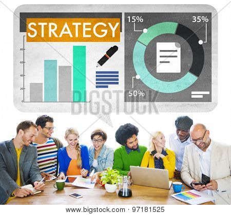 Business Strategy Planning Report Concept