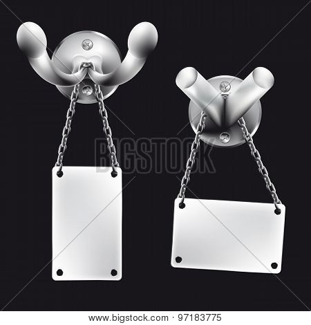 Small metal hook