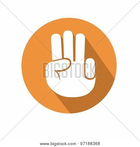 Three Fingers Gesture