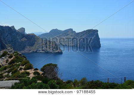 Cap Formentor, Majorca, Spain - July 2015