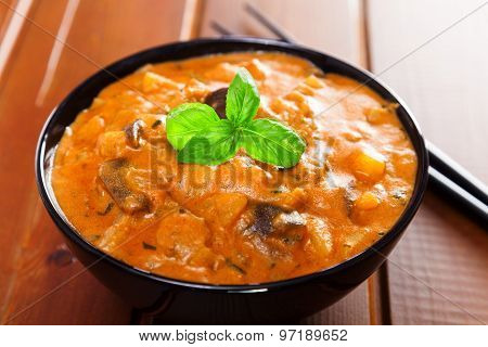 Vegetarian Thai Curry