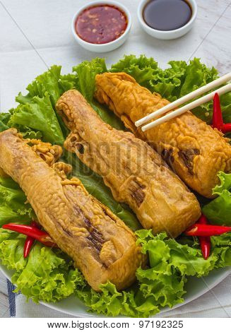 Fried Bamboo Shoots