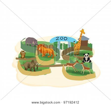 zoo illustration