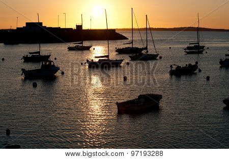 Sunset In Howth Peninsula