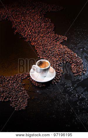 Italian Cup Of Coffee