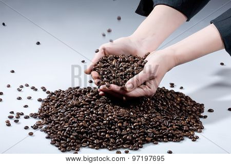 Hands And Beans