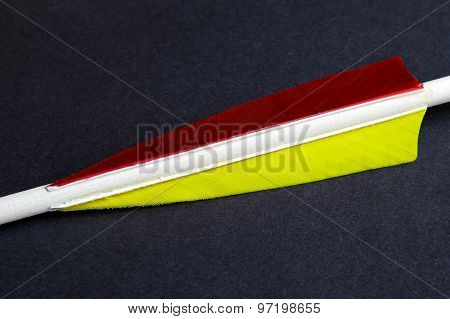 Arrow Feathers Different Colors