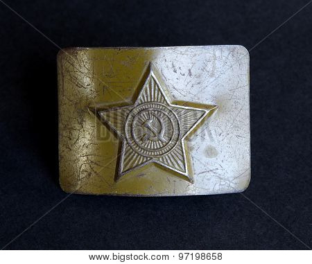 Soviet Russian Army Belt Buckle