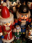 image of tchaikovsky  - a gathering of nutcrackers with santas kings princes and soldiers - JPG