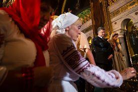 foto of baptism  - KIEV UKRAINE  - JPG