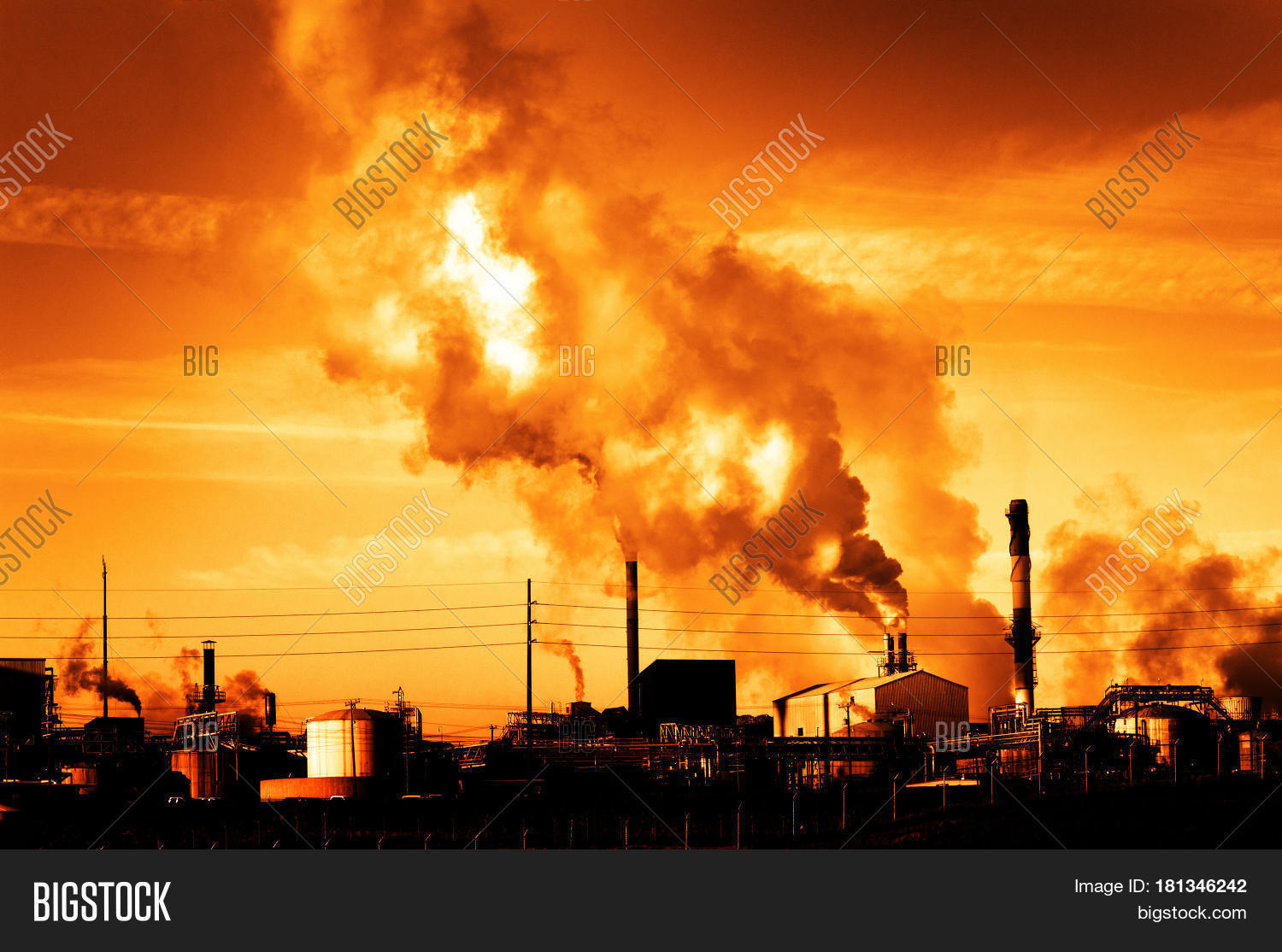 pollution is the by product of development