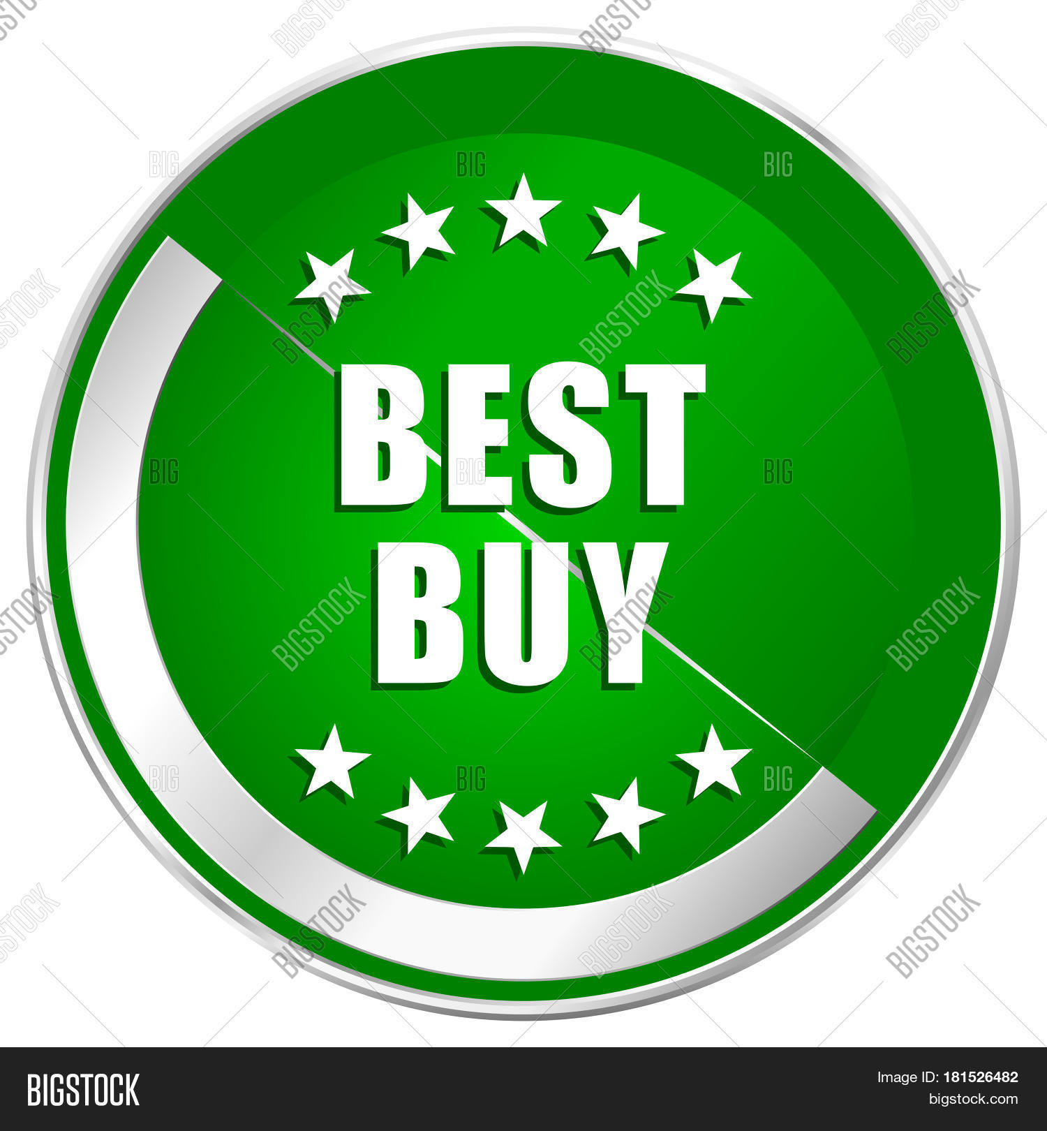 Best Buy Silver Metallic Border Image Photo Bigstock