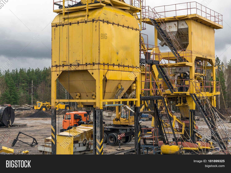 Small Cement Plant : Concrete cement factory small image photo bigstock