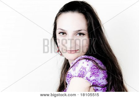 Girl with Long hair
