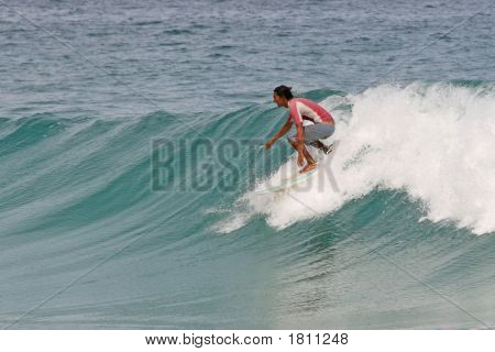 Surfing Clean Waves