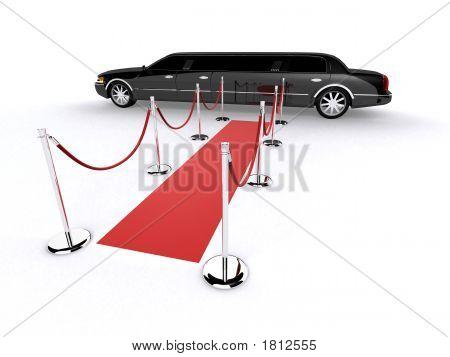 Limousine preta
