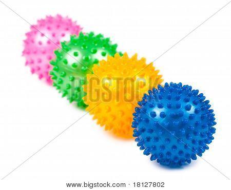 Pimpled Balls