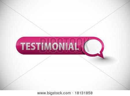 Web Testimonial Icon