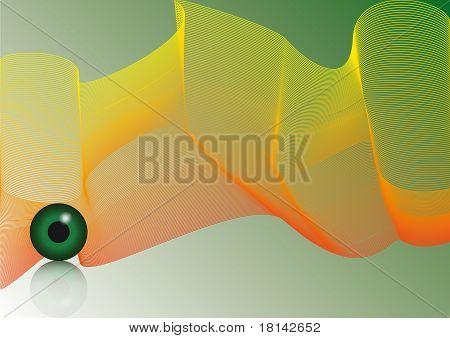 Auge-Hintergrund