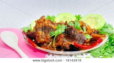 Delecious Indian Mutton Korma (Meat curry or Mutton curry)