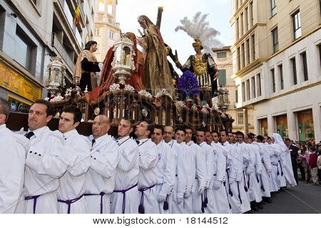 Men At Religious Procession