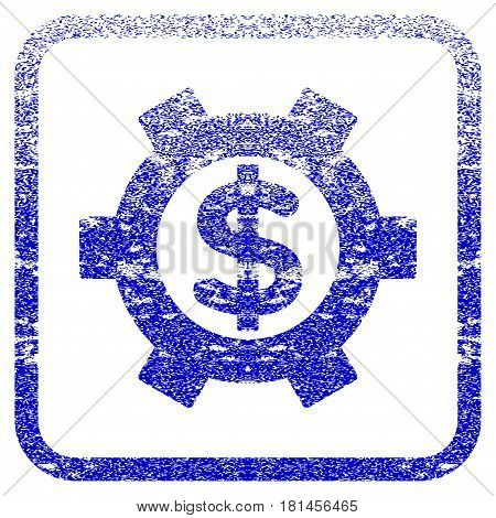 Financial Settings textured icon for overlay watermark ...