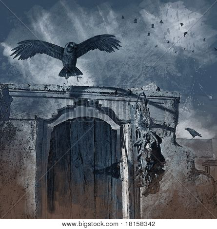 Raven Landing - Charcoal