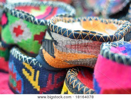 handmade genuine ethnic caps
