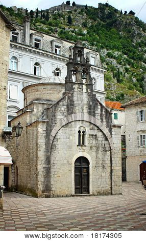 Church Of Sveti Luka In Kotor