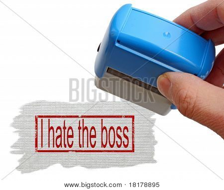 I Hate The Boss