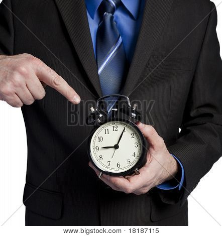 Boss Upset Because You Are Late