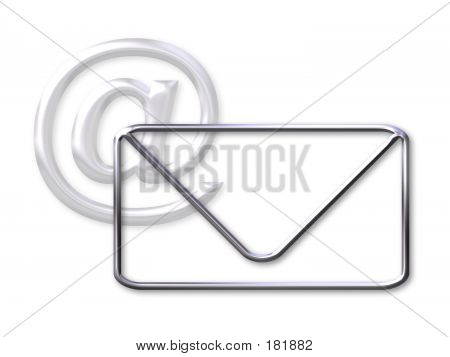 Envelope And @